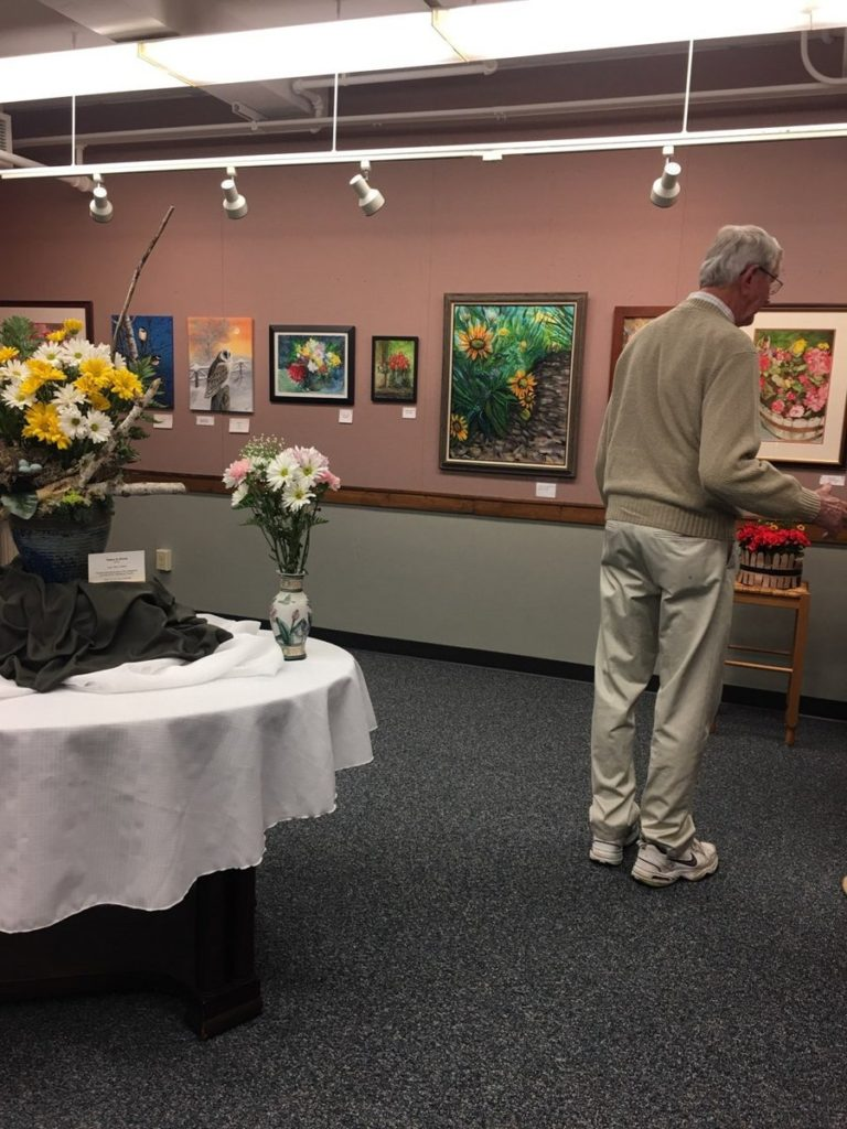 MAAC Attack Art Exhibit Reception 2017