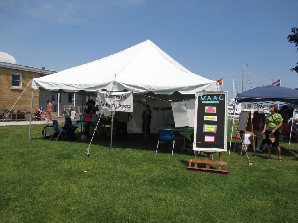 Art For All Art Activity Tent