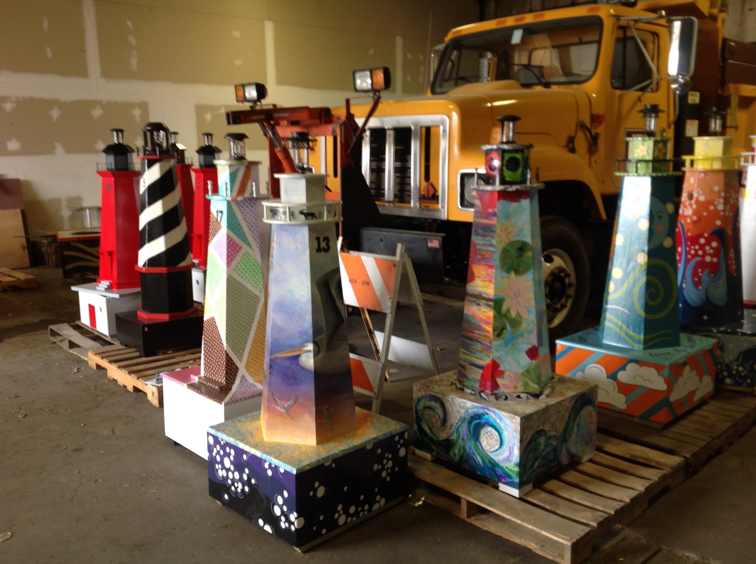 Lighthouses are done, ready to Install!